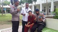 Pemberitaan soal anggota polisi di Polda Aceh, yang telah dinyatakan hilang bahkan meninggal dunia saat tsunami Aceh 2004 silam, ditemukan lagi di Rumah Sakit Jiwa (RSJ) Aceh, ramai dibicarakan di media sosial. (Liputan6.com/ RSJ Aceh)