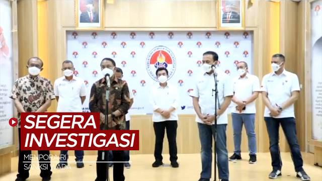 Berita Video, Jokowi Perintahkan Menpora Investigasi Penyebab Sanksi WADA kepada Indonesia