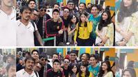Para pemain GGS pamer foto mereka berangkat ke Bali. (sumber: instagram.com)