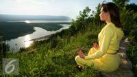 Ilustrasi Meditasi (iStockphoto)