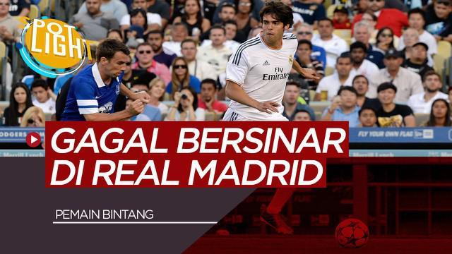 Berita Video Spotlight Ricardo Kaka dan 3 Pemain Bintang yang Gagal Bersinar di Real Madrid