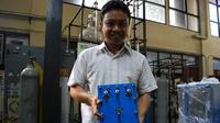 Mahasiswa Program Studi Doktor Teknik Kimia ITB Khoiruddin. (Dok. Humas ITB/Huyogo Simbolon