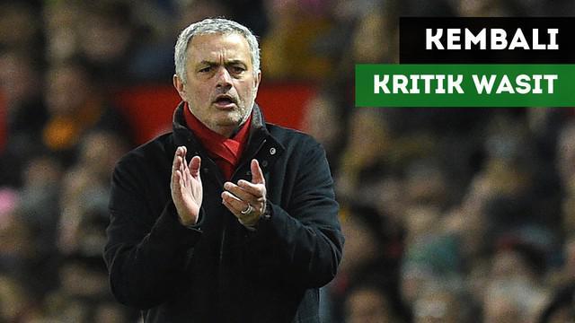 Pernyataan dari Jose Mourinho yang mengkritik kepemimpinan wasit setelah Manchester United ditahan Imbang oleh Southampton