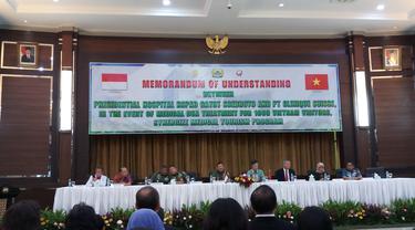RSPAD Jalin Kerjasama dengan Pemerintah Vietnam