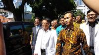 Presiden PKS Sohibul Iman datangi Polda Metro Jaya