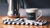 Ilustrasi kopi hitam (Foto: Pixabay)
