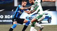 Inter Milan vs Sassuolo. (Dok. Twitter/Inter)