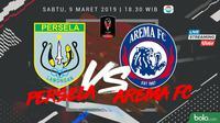 Piala Presiden: Persela Lamongan vs Arema FC. (Bola.com/Dody Iryawan)