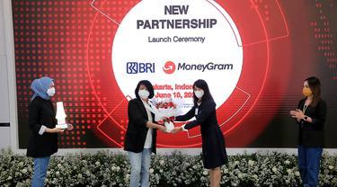 Kerja sama BRI dengan MoneyGram International, Inc.