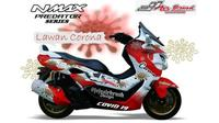 Yamaha NMax Predator edisi corona (JJ Airbrush)