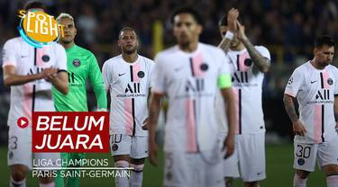 Berita video spotlight kali ini membahas tentang empat klub yang belum pernah merasakan gelar juara Liga Champions, salah satunya ialah PSG.