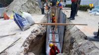 Jaringan Perpipaan Air Limbah di Pekanbaru, Riau. Dok Kementerian PUPR