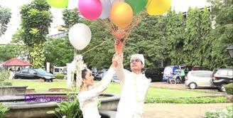 Bulan madu di Maldives, Turki atau Bali dan memiliki tiga orang anak menjadi rencana bagi pasangan yang baru menikah ini.