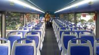 Tampilan bus tingkat untuk wisata malam Jakarta (Delvira Chaerani Hutabarat/Liputan6.com)