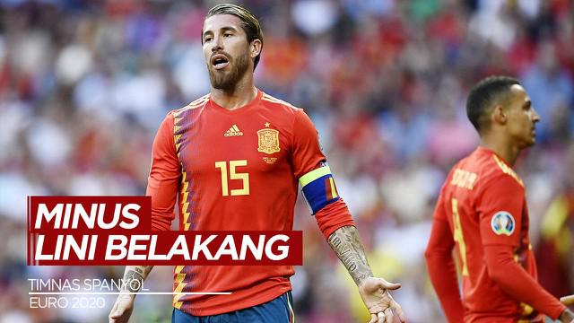Berita Video Tanpa Sergio Ramos, Spanyol Minim Bek Berpengalaman di Euro 2021
