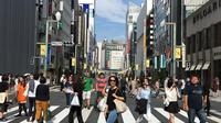 Ginza, Tokyo, Jepang. (dok. Instagram @retnopinasti/https://www.instagram.com/p/BKxBMmrj0Wv/Asnida Riani)