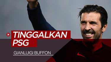 Berita video Gianluigi Buffon resmi meninggalkan PSG (Paris Saint-Germain) pada akhir Juni 2019.