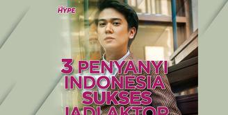 Siapa saja penyanyi Indonesia yang sukses melebarkan sayapnya ke industry perfilman? Yuk, kita simak videonya!