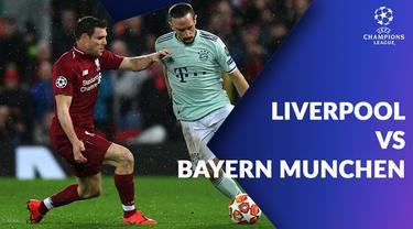 Berita video statistik Liverpool vs Bayern Munchen pada 16 besar Liga Champions 2018-2019 leg 1.