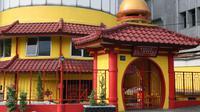 Masjid bergaya arsitektur Tiongkok