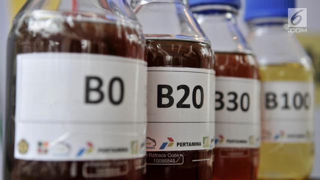 Uji Coba Penggunaan Bahan Bakar B30