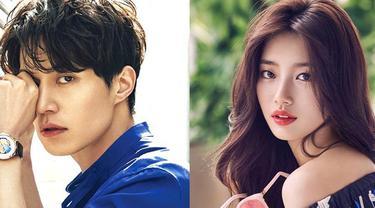 """""""Setelah putus, Lee Dong Wook dan Suzy tetap mendukung satu sama lain sebagai sesama aktor,"""" tulis OSEN. (Foto: Allkpop.com)"""