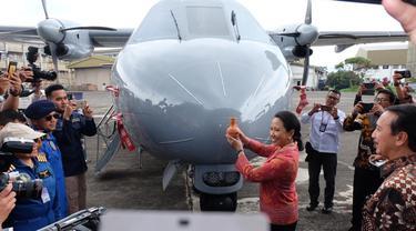 Menteri BUMN Rini M Soemarno melakukan kunjungan kerja di Bandung, Jawa Barat, pada Kamis (24/1/2019). Dok Kementerian BUMN