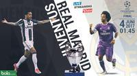 Liga Champions Juventus Vs Real Madrid Head to Head Wingback Dani Alves dan Marcelo (Bola.com/Adreanus Titus)