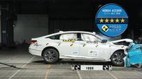 Honda Accord Generasi ke-10 Raih 5 Bintang ASEAN NCAP (HPM)