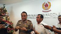 Chief de Mission (CdM) Asian Games 2018, Wakopolri Komjen Pol. Syafruddin (Liputan6.com/Cakrayuri Nuralam)