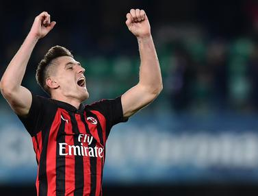 Piatek Bawa AC Milan Taklukkan Chievo