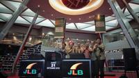 PT Jakarta Lingkar Baratsatu (JLB) mengumumkan pencatatan perdana obligasi JLB Tahun 2018 sebesar Rp 1,3 Triliun. Dok Merdeka.com/Anggun P Situmorang