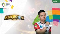 Atlet Hearthstone Asian Games 2018. (Bola.com/Dody Iryawan)