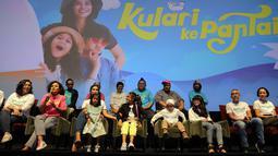 Film ini disutradarai oleh Riri Riza dan diperankan oleh yaitu Maisha Kana dan Lili Latisha. Sementara barisan pemeran dewasa diramaikan oleh Marsha Timoty, Ibnu Jamil, dan Lukman Sardi. (Deki Prayoga/Bintang.com)