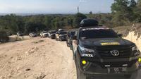 Komunitas Toyota Fortuner Indonesia (ID42NER) touring Jawa, Bali dan Lombok. (Istimewa)