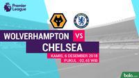 Premier League Wolverhampton Wanderers Vs Chelsea (Bola.com/Adreanus Titus)