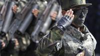 Militer Korut (Foto:AP)