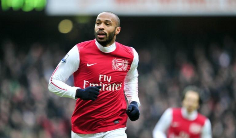 Mantan pemain Arsenal, Thierry Henry. (AFP/Glyn Kirk)