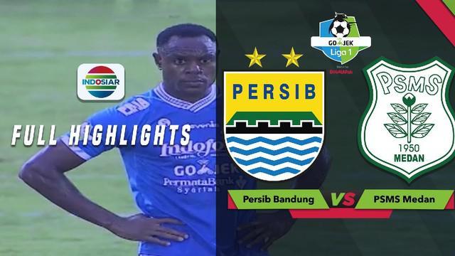 Berita video higlights pertandingan lanjutan Gojek Liga 1 2018 bersama Bukalapak antara Persib Bandung melawan PSMS Medan yang berakhir dengan skor 0-1, Jumat (9/11/2018).