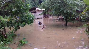 Bogor direndam Banjir (Liputan6.com/Achmad Sudarno)