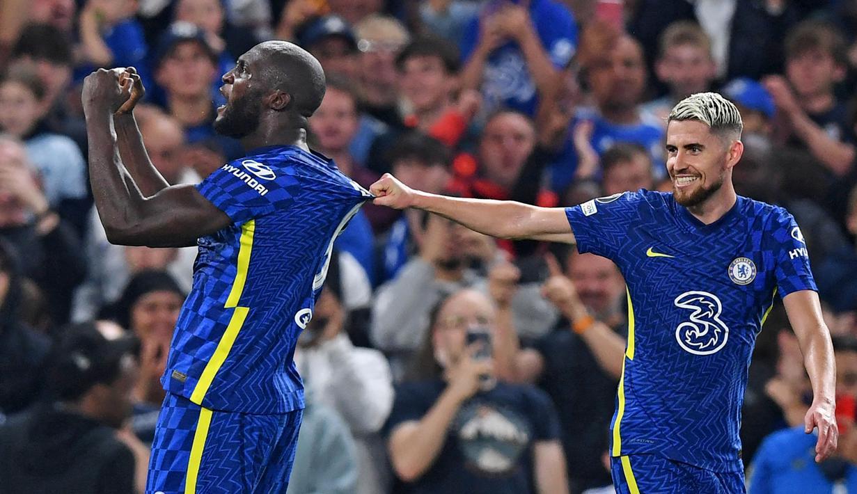 Chelsea sukses mengawali Liga Champions 2021/2022 dengan kemenangan. Sang juara bertahan itu berhasil menundukkan Zenit St Petersburg dengan skor tipis 1-0. (Foto: AFP/Daniel Leal-Olivas)