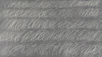Lukisan seharga miliaran rupiah itu mirip coretan kapur di papan tulis