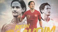 Irfan Bachdim - Timnas Indonesia, Bali United, PSS Sleman (Bola.com/Adreanus Titus)