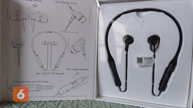 1More Stylish BT Pro Headphone (Liputan6.com/ Agustin Setyo W)