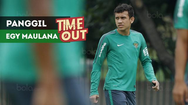 Berita video Time Out kali ini soal pemanggilan Egy Maulana Vikri oleh Pelatih Timnas Indonesia U-23, Luis Milla, jelang laga melawan Singapura pada 21 Maret 2018.