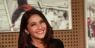 Memasuki usia 40 tahun, Maudy Koesnaedi tetap terlihat cantik dan memiliki tubuh ideal. (Deki Prayoga/Bintang.com)