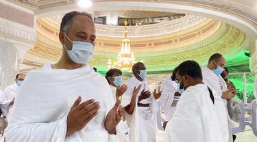 FOTO: Melihat Lebih Dekat Pelaksanaan Umrah di Masa Pandemi COVID-19
