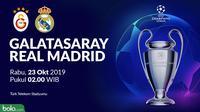 Liga Champions - Galatasaray Vs Real Madrid (Bola.com/Adreanus Titus)