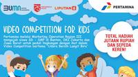 Video Competition for Kids bertema Udara Bersih Langit Biru.