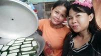 Kue tetu, kuliner kesukaan raja yang digemari selama Ramadan (Liputan6.com/ Eka Hakim)